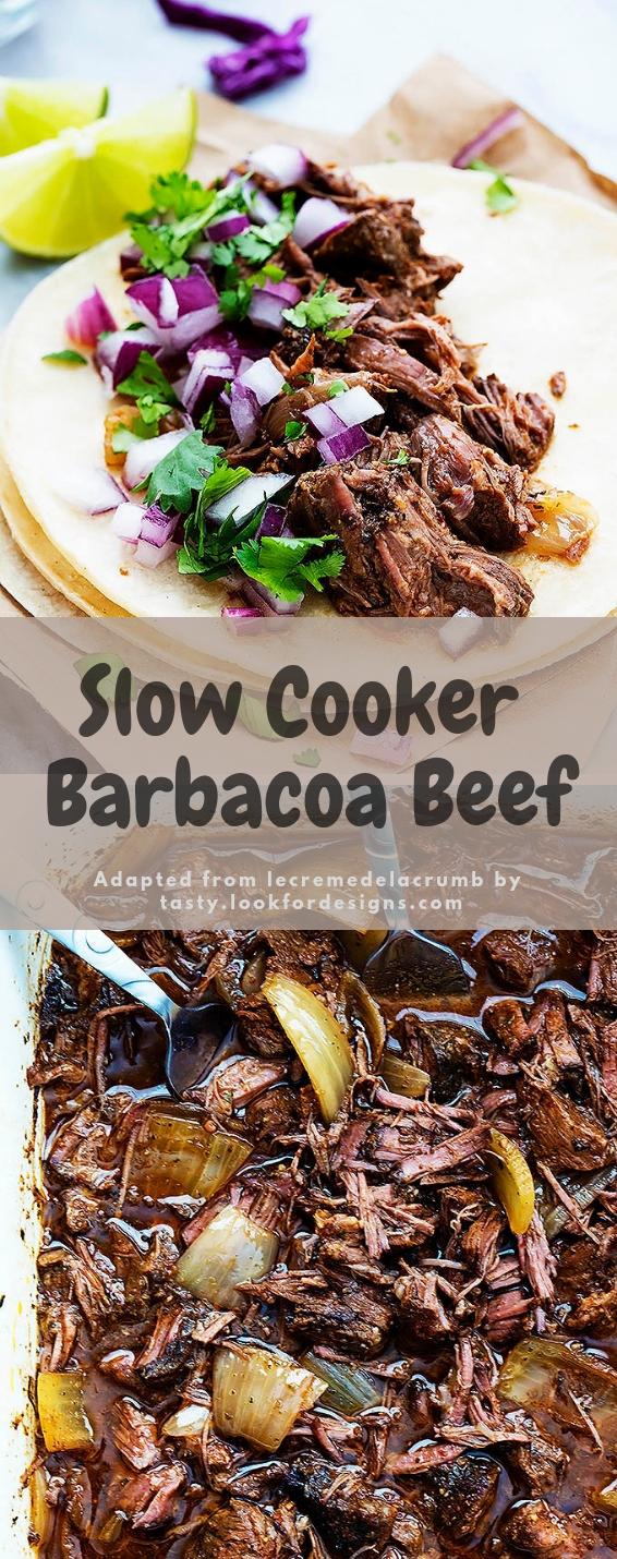 Slow Cooker Barbacoa Beef Recipe