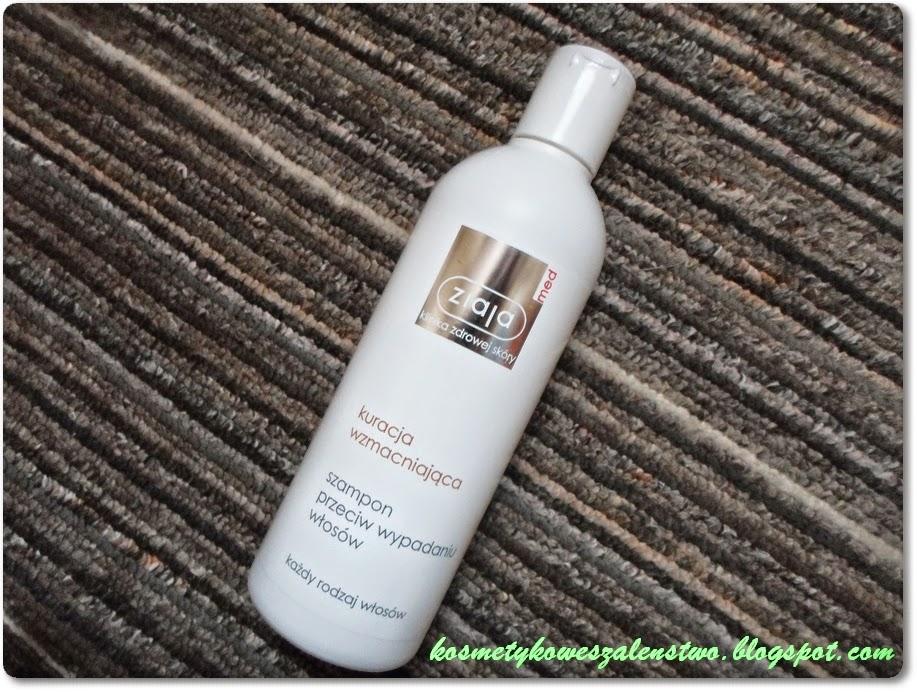 szampon na wypadanie włosów ziaja