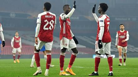 Arsenal Extend Europa League Unbeaten Run Against Molde