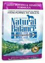 Picture of Natural Balance L.I.D. Limited Ingredient Diets Sweet Potato and Venison Dry Dog Food