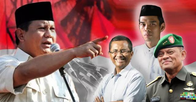 Ustaz Abdul Somad, Gatot Nurmantyo, Dahlan Iskan, dan Para Game Changer