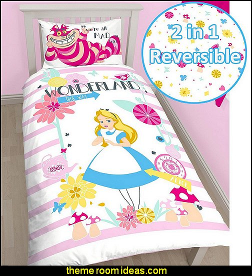 Alice in Wonderland Curious  Duvet Cover Set