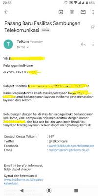 Cara Berlangganan Indihome di Bekasi