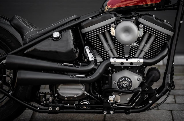 Harley Davidson By MB Cycles Hell Kustom