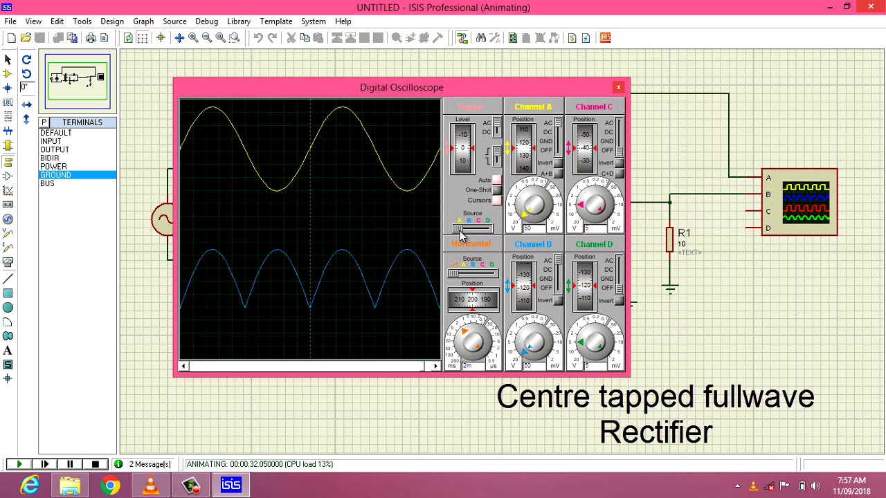 Guna Electronics Half Wave Rectifier Circuit From Ac To Dc A Full Is Which Converts An Voltage Into Pulsating Using Both Cycles Of The Applied