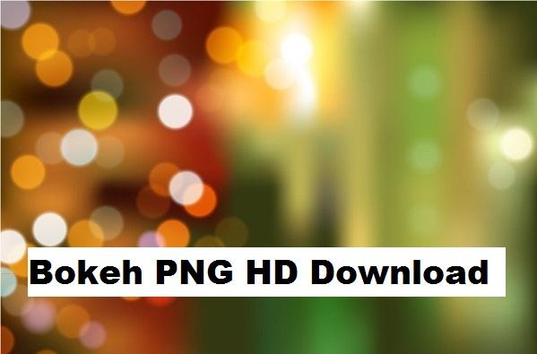 Bokeh effect PNG HD Free Download 2018