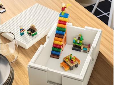 Ikea e Lego construíram caixas de armazenamento brutais