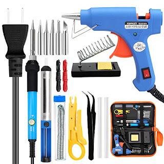 Anbes Welding Kit - Electronic Soldering Iron Tool Set for DIYs