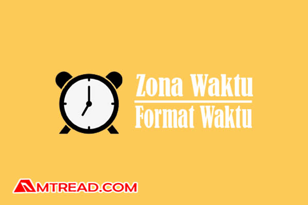 Setting zona waktu dan format waktu blog
