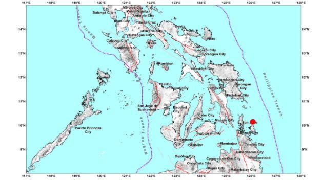Magnitude 5.3 earthquake shakes northern Mindanao