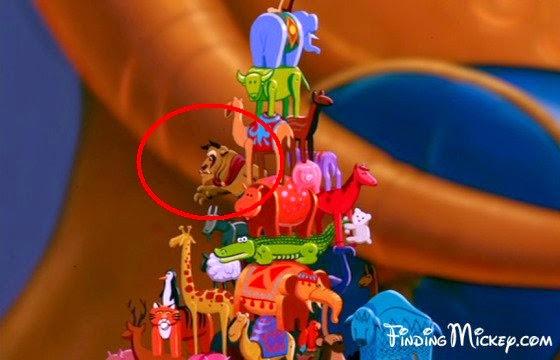 Personajes ocultos en las películas Disney