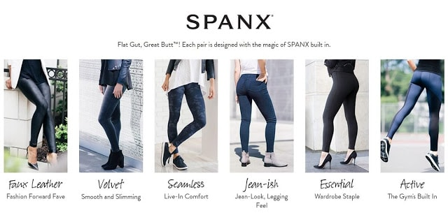 Spanx Jeanish Cropped Leggings