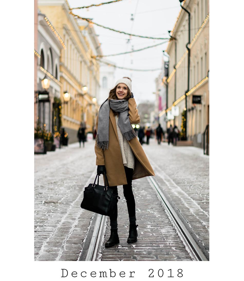 Fashion blogger December outfits - Muotiblogi joulukuun asut
