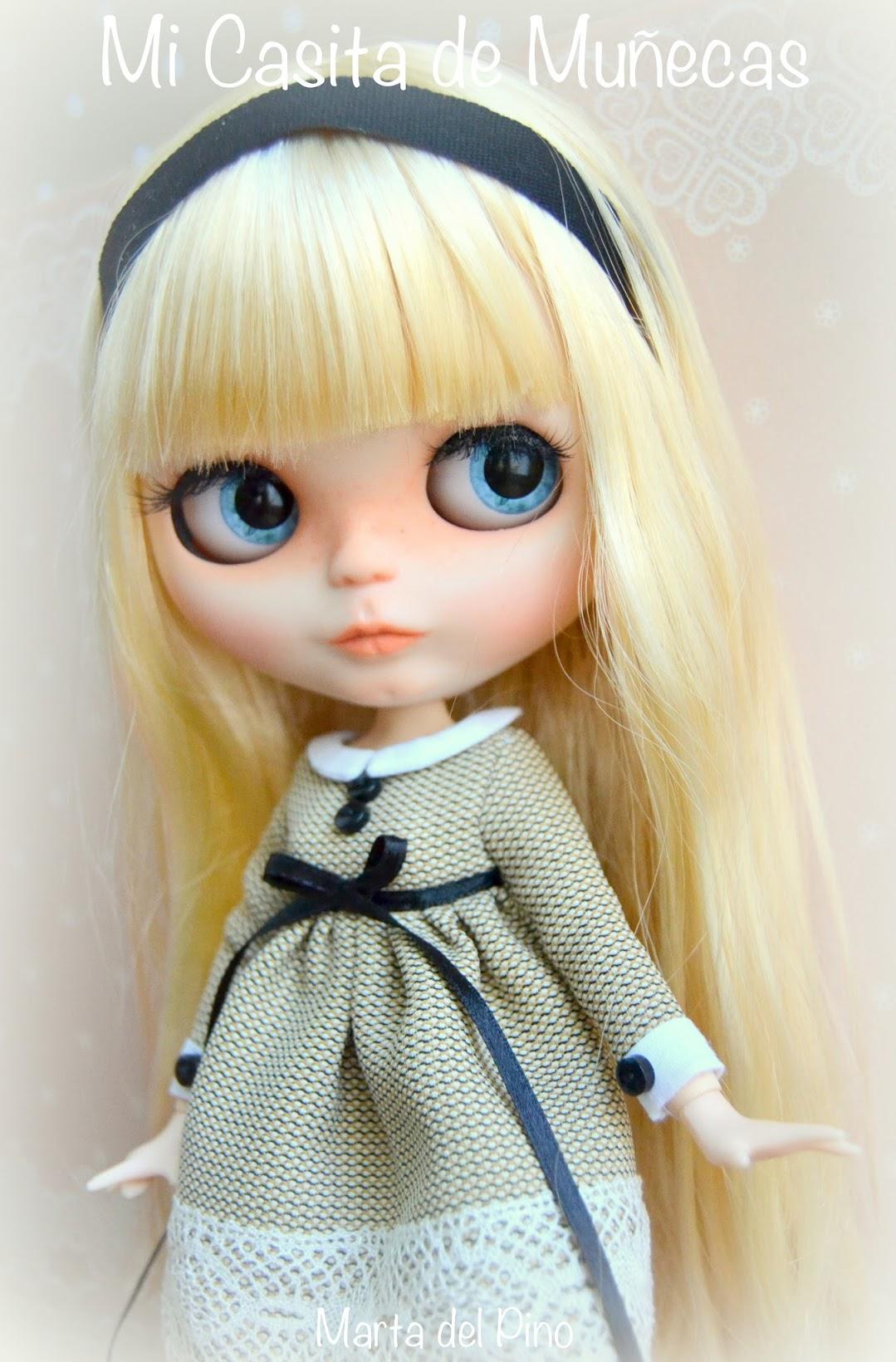 blythe custom, mi casitas de muñecas, Marta del Pino, dolls, blythe, customizar, chips,