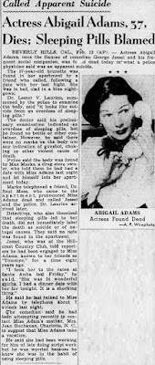 Abigail Adams Suicide