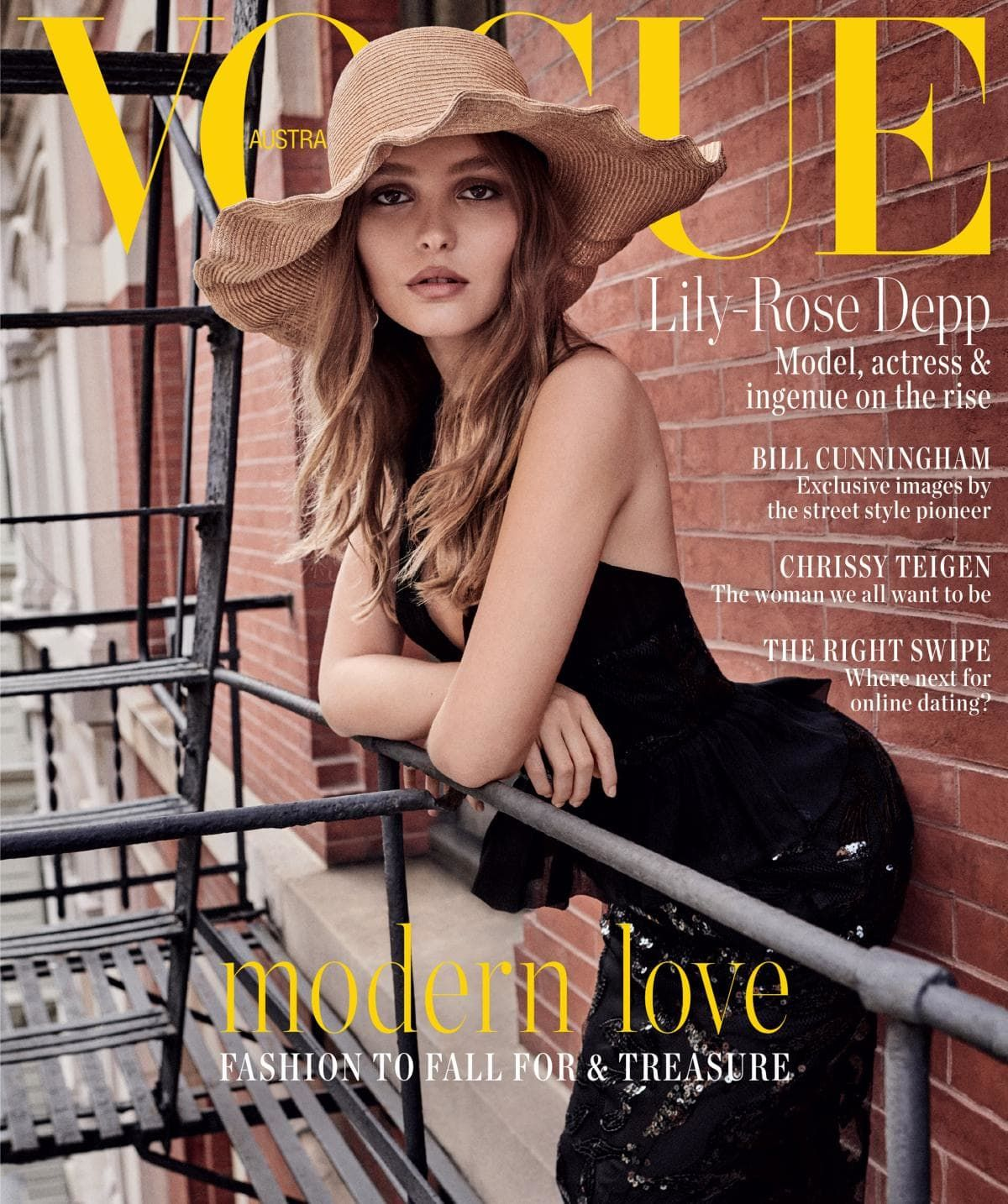 Lily-Rose Depp - Vogue, Australia February 2019 Issue