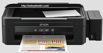 reset printer epson L300 350
