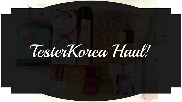 End of 2015 Haul Part 2: TesterKorea