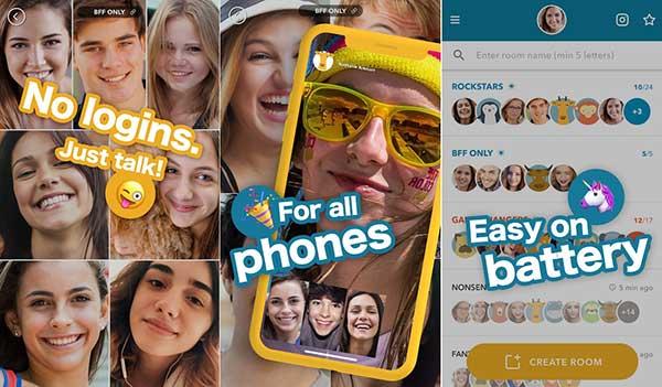 Zooroom : application pour les appels vidéo de groupe
