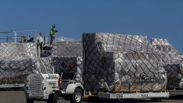 Venezuela recibe segundo cargamento de ayuda china contra COVID-19