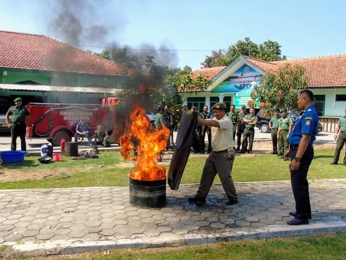 Kodim 0735/Surakarta Gelar Sosialisasi Pencegahan Dan Pemadaman Kebakaran, Ini Tujuannya