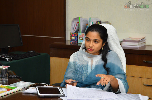 Swetha Mohanty IAS In conference meeting