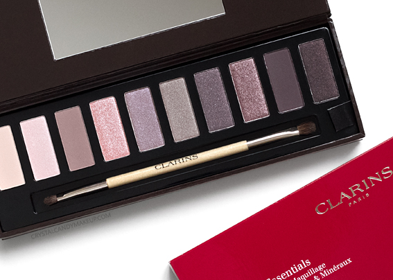 Clarins The Essentials Eyeshadow Palette Holiday 2016 Review