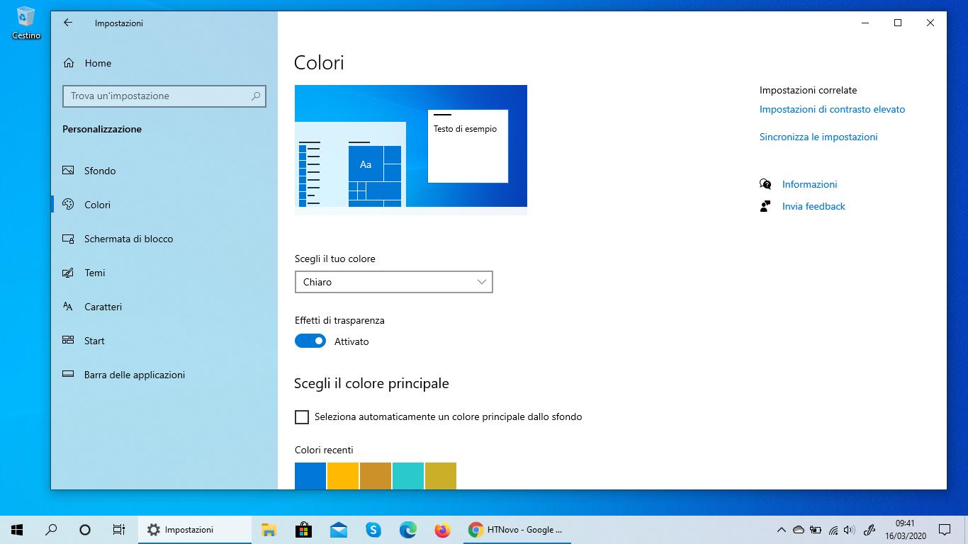 Come passare automaticamente dal Tema chiaro al Tema scuro in Windows 10