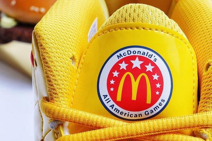 McDonald's Basketball Shoe Seal I'm Lovin It