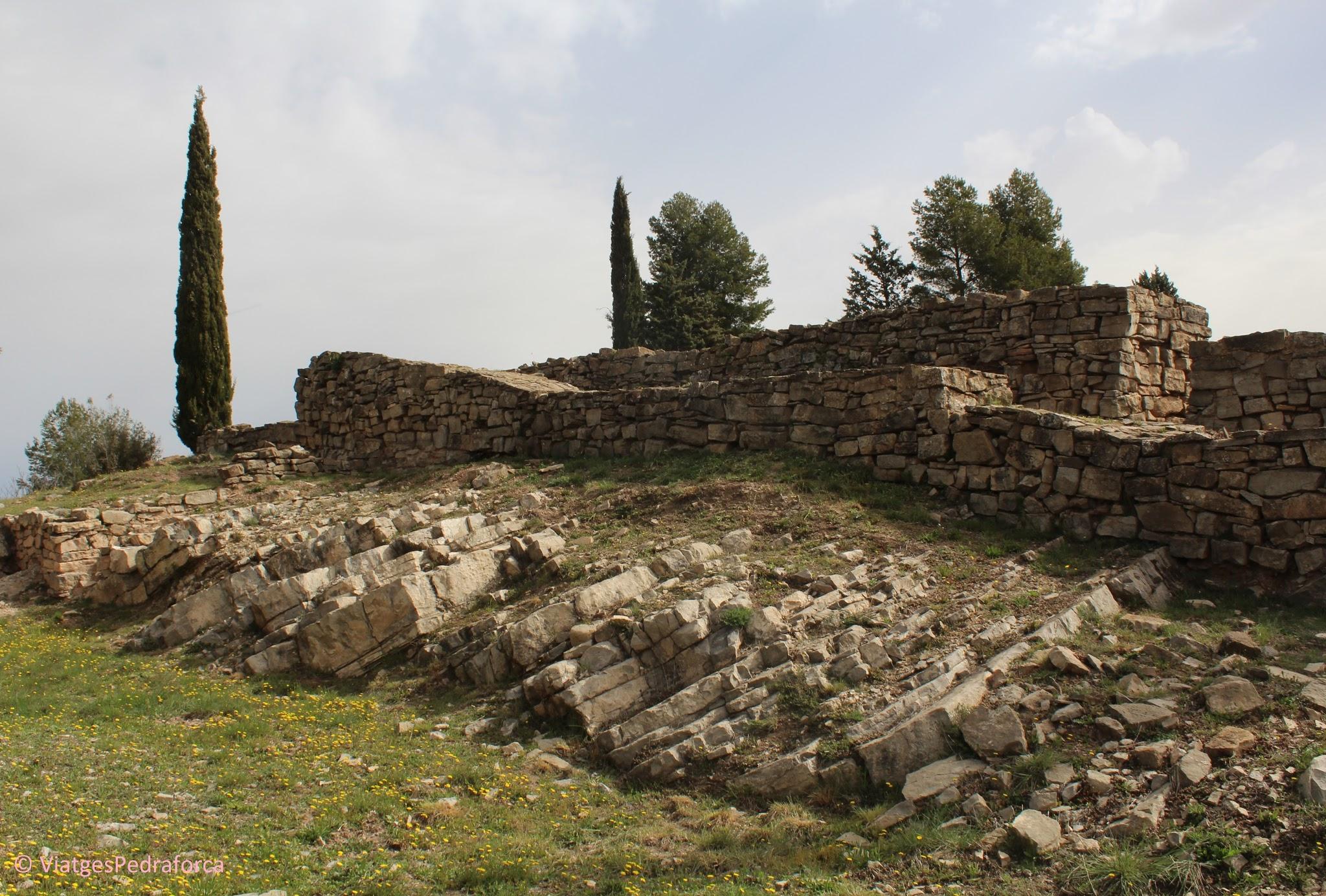 ruta arqueològica i medieval pel Bages, Sallent, Catalunya, arqueologia