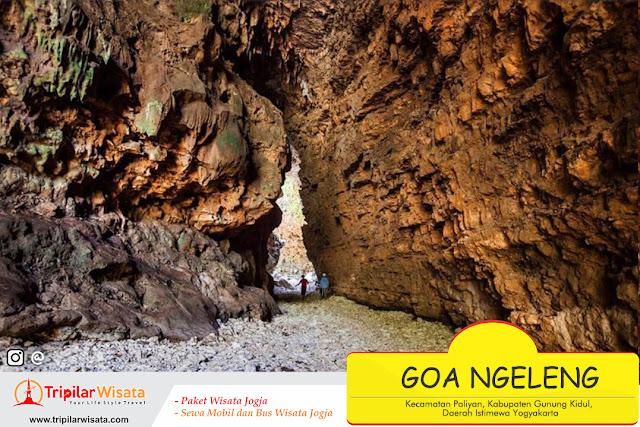 Goa Ngeleng Paliyan Gunung Kidul Yogyakarta