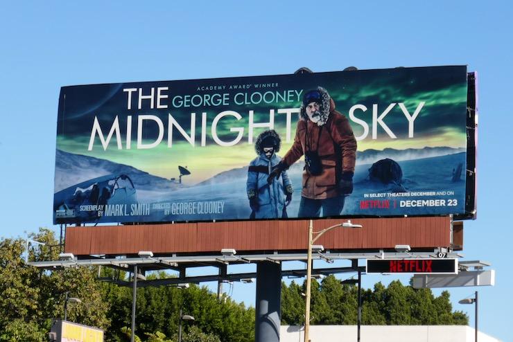 Midnight Sky Netflix billboard