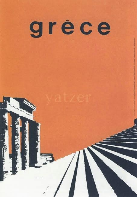Vintage Greek travel poster Freddy Carabott 1963