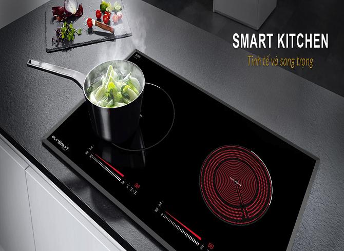 Bếp điện từ Eurosun EU-TE259Plus có thiết kế tinh tế