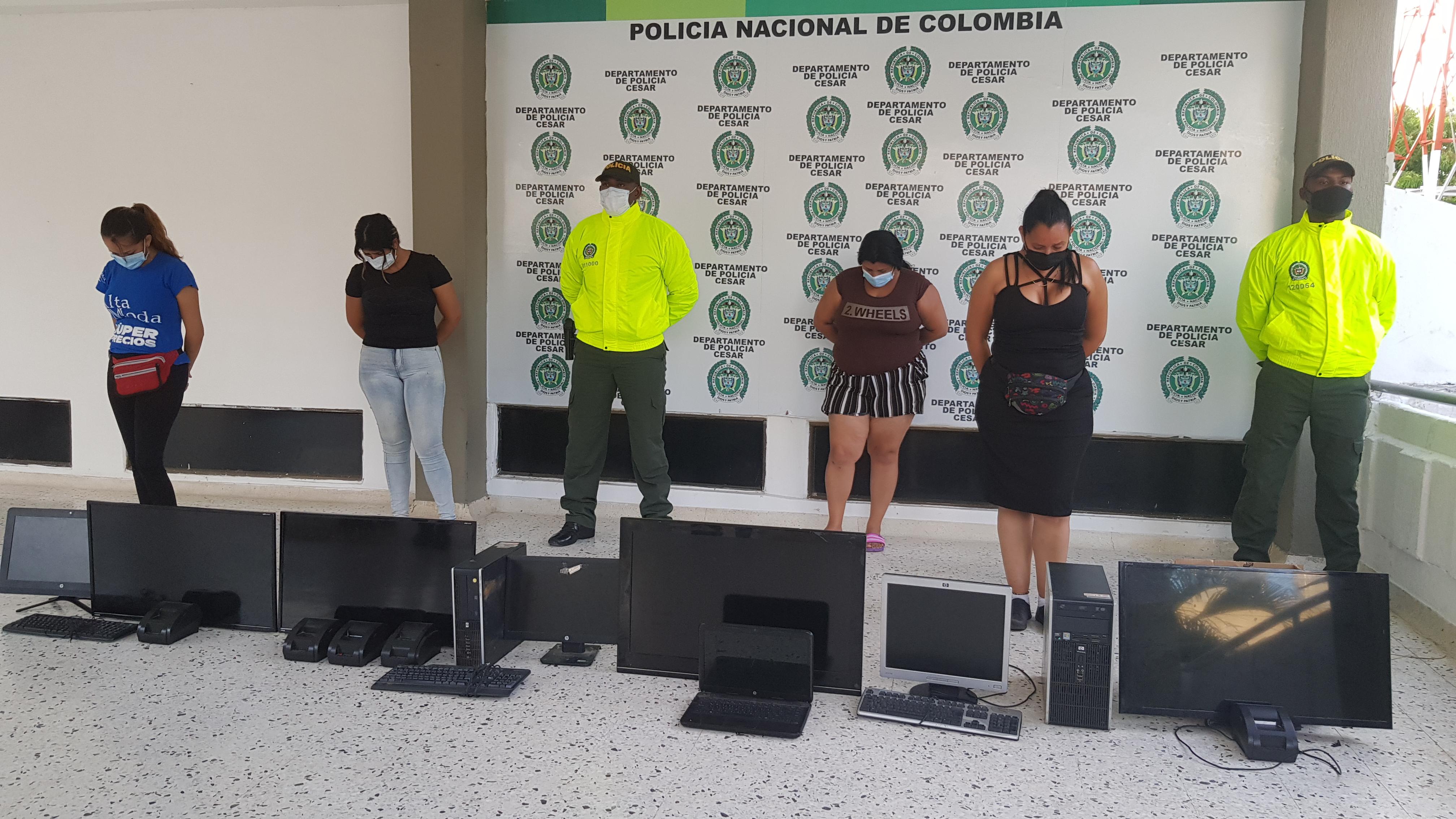 hoyennoticias.com, Capturadas tres venezolanas en Valledupar, por comercializar apuestas ilegales