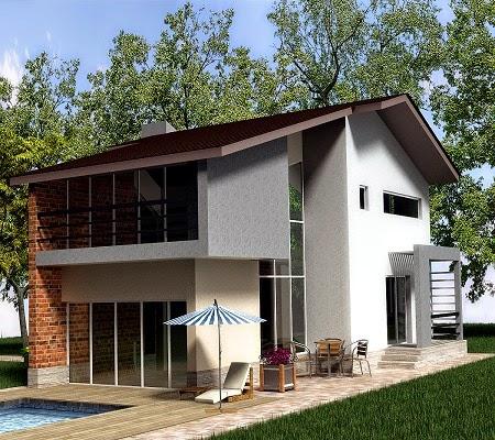 Proiecte case vile moderne cu etaj - Servicii Design Interior - Amenajari Interioare Bucuresti