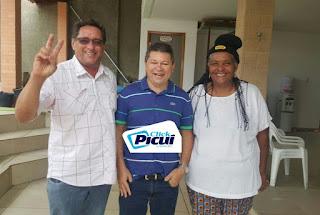 Empresário Picuiense se encontra com presidenta e vice do PROS municipal
