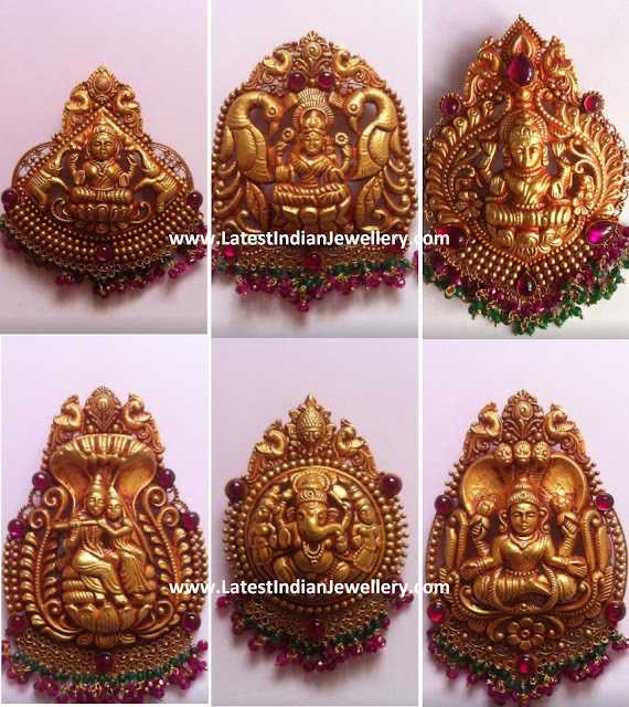 Antique Temple Pendants Collection
