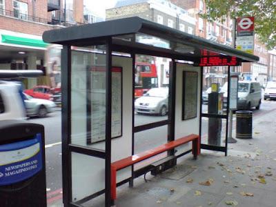 Parada de bus ecológica