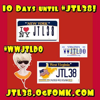 11 days until JT LeRoy's 38th Birthday!