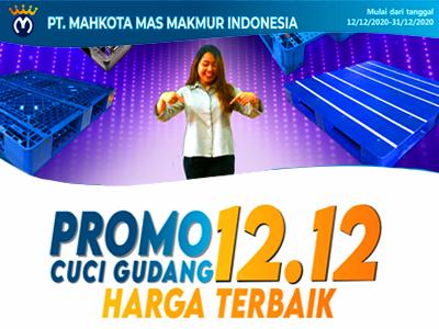 Cuci Gudang 12-12, Harga Best Price Pallet Plastik Bekas Tanpa Minimum order