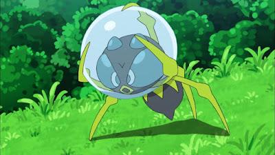 Pokemon Sol y Luna Capitulo 71 Temporada 20 Dewpider, obtiene a Suiren