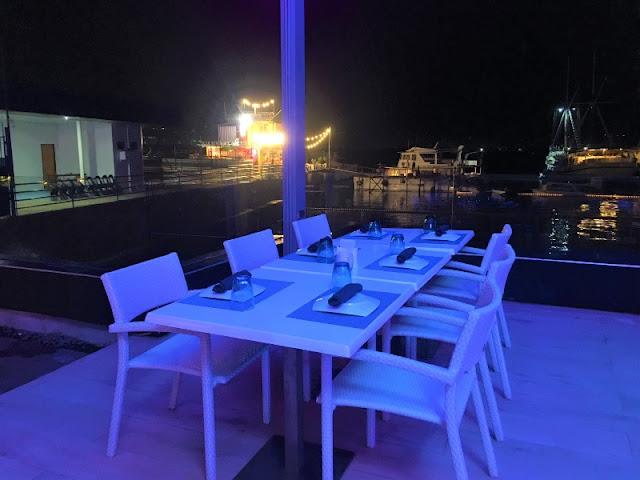 Alfresco Dining by the Sea at Marina Seaview Restaurant