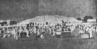 great indian kamla circus old picture