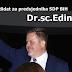 Dr.sc.Edin Delić objavio kandidaturu za predsjednika SDP BiH - Vrijeme je za čovjeka koji može i hoće, našoj djeci obezbijediti sretniju budućnost