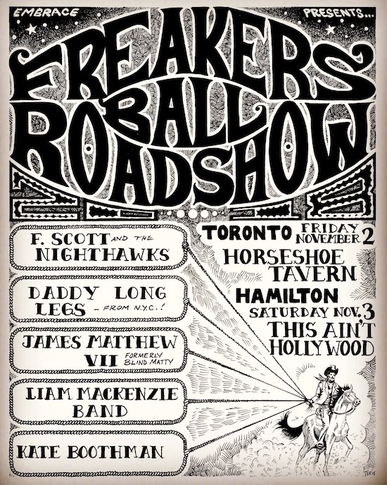 Freakers Ball Roadshow @ The Horseshoe, Nov 2