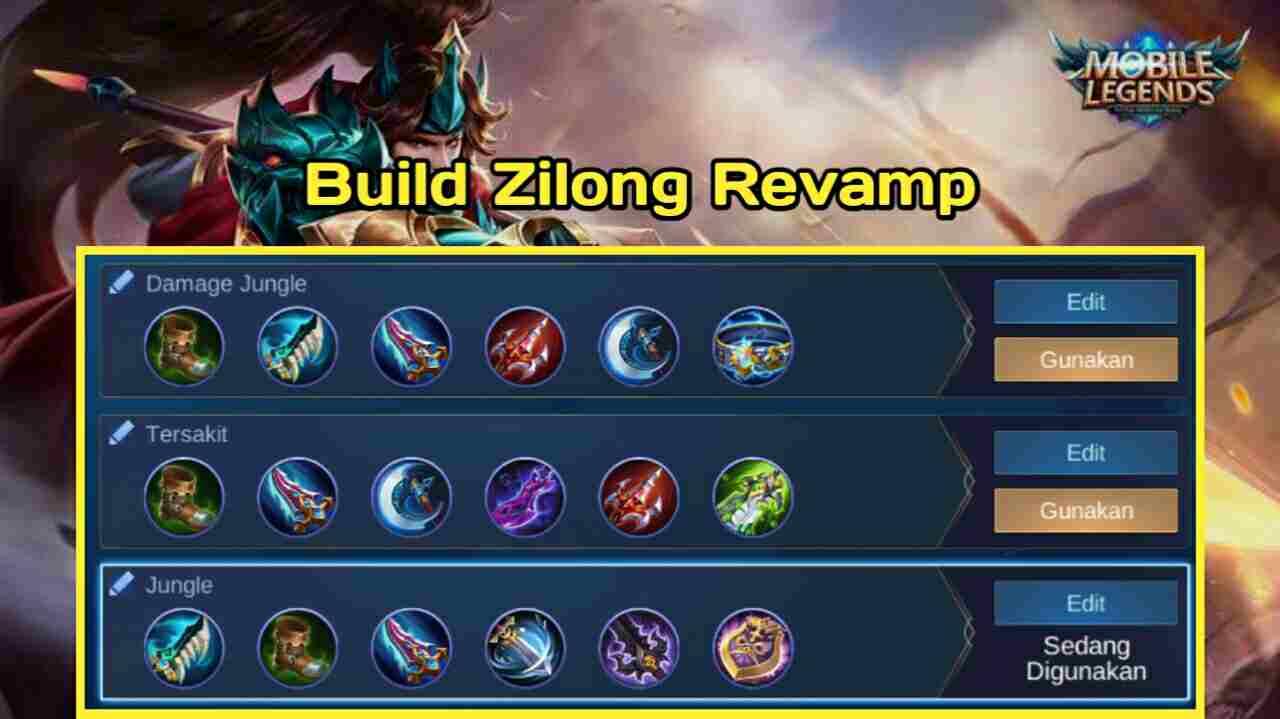 Build Zilong Revamp hurts