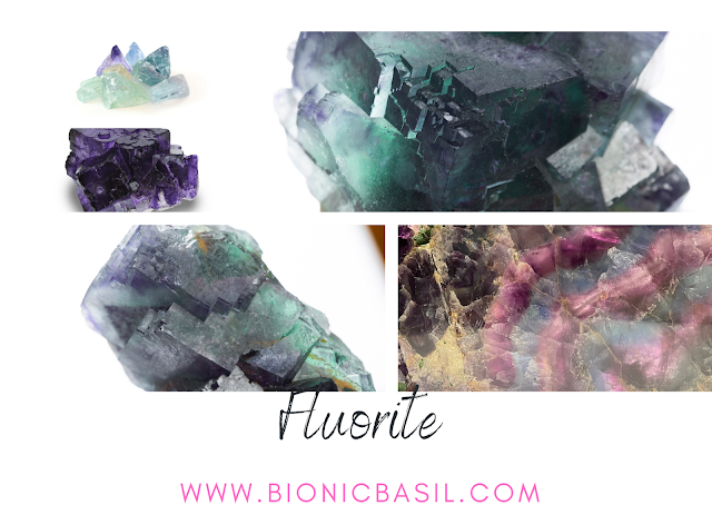 Colouring with Cats ©BionicBasil® Crystal of The Week - Fluorite