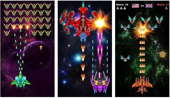 Download Galaxy Attack Alien Shooter MOD APK 20.5 1
