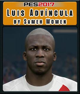 PES 2017 Faces Luis Advíncula by Sameh Momen